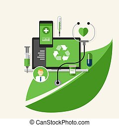 green recycle health medical environment friendly medication...
