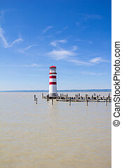 Lighthouse Podersdorf Lake Neusiedl - Taken on May 11th,...