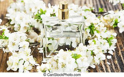 Flower Perfume Bottle