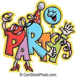 party illustration