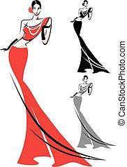 fashion style woman