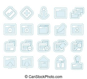 Server and computer icons - Application, Programming, Server...
