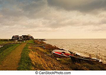 Marken a small village near Amsterdam in The Netherlands