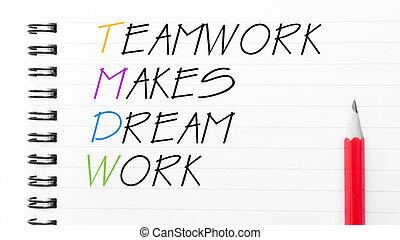 TeamWork Makes Dream Work