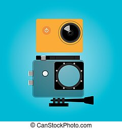 extreme action video digital camera