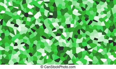 large irregular shape pattern background green fast -...