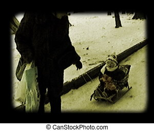 mother sledge her child - mother sledge her little baby...