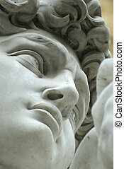 david,Close up - a close-up of Davide,in piazza della...