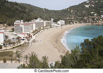 San Vicente Beach, Ibiza, Balearic Islands, Spain
