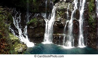 Waterfall, Ile De La Reunion - 1080p, Reunion Nature,...