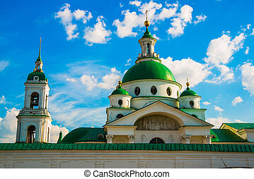 Spaso-Yakovlevsky monastery in Rostov the Great, Russia. -...