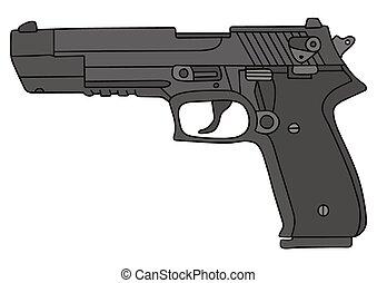 Cielna, pistolet ręczny