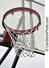 Swish - Basket ball net close up