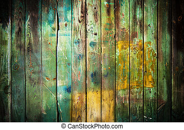 Old wood background - Old rustic wood background