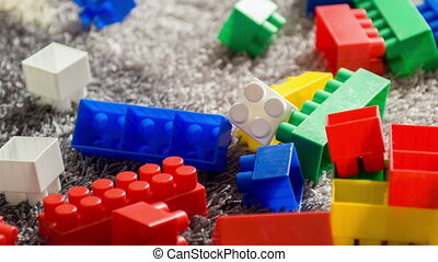 Colorful building set for children - favorite toy for...