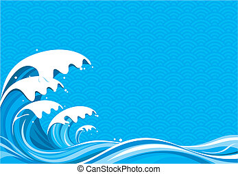 Surf Graphic of vector illustration file No gradient fill