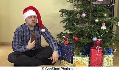 man woman christmas sweet