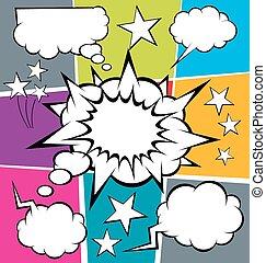 Big Set Of Bubble Speech - vector set of comics style speech...