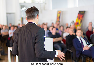 Speaker at Business Conference and Presentation. - Speaker...