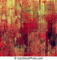 Grunge background with space for text or image. With different color patterns: yellow (beige); green; red (orange); pink