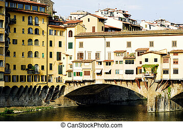 Ponte vecchio - a detail of ponte Vechio,Florence,italy