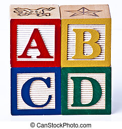 ADBC Blocks - kids ABCD playing blocks
