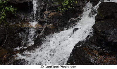 Amicalola Falls Small Falls Loop - A small section of falls...