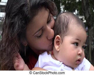 Baby and Mother, Single Mother