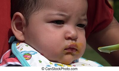 Baby Eating, Baby Food, Infants