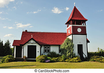 ANGLICAN CHURCH PINE LAKE ALBERTA