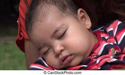 Sleeping Baby, Infant, Asleep