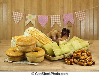 Brazilian farm food - Brazilian country food for June feast.