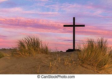 Dune Black Cross