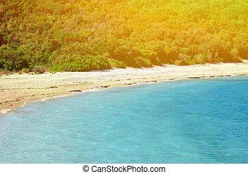 playa, paraíso