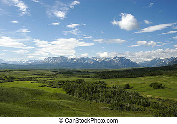 SCENE AT WATERTON PROVINCIAL PARK - SCENE AT WATERTON...