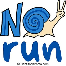 no run symbol - Creative design of no run symbol