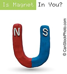 Super plasticine Magnet - Magnet, easy to edit layers, easy...