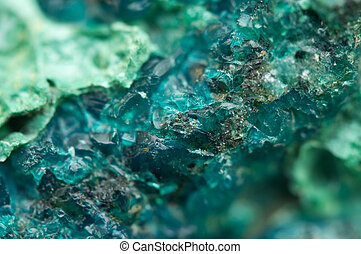 Chrysocolla is a hydrated copper cyclosilicate It has the...
