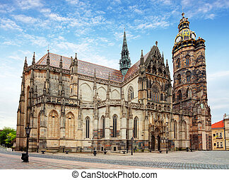 Kosice, Cathedral of St Elizabeth, Slovakia