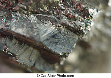 Iron pyrite, is an iron sulfide with the chemical formula...