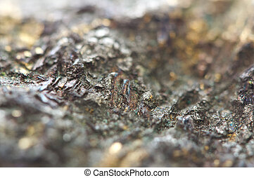 mineral, cobre, chalcocite, macro, importante, sulfide,...