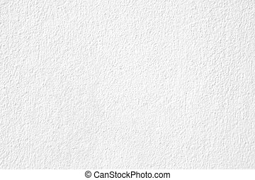 White plaster wall texture background - closeup of white...