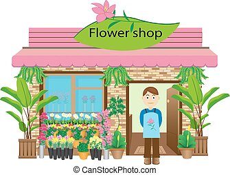 Flower shop Stock Illustrations. 8,913 Flower shop clip ...