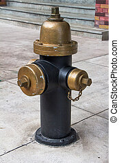 fire hydrant vintage style in newyork