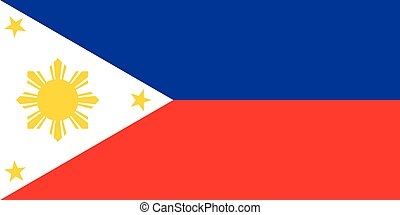 The national flag of Philippines - The national flag of the...