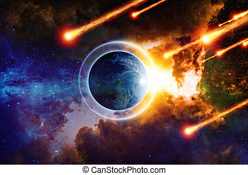 End of world - Scientific background - planet Earth is...