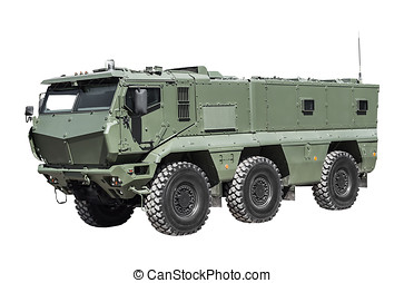 increased vulnerability of armored personnel carriers...