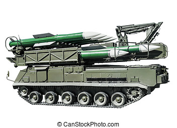 multipurpose highly mobile anti-aircraft missile system ADMS...