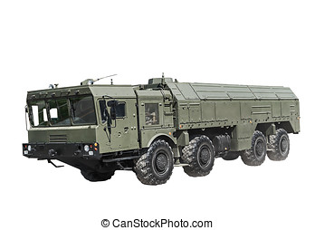 Self-propelled launcher operational-tactical missile complex...