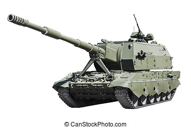 self-propelled artillery Class self-propelled howitzer...